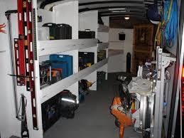 Cargo Van Shelves by Work Van With Custom Diy Wood Shelving For Tools Youtube