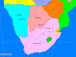 Angola Africa Map by Africa Southern Africa Political Map A Learning Family