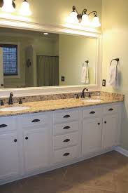 15 dreamy bathroom lighting ideas white sink glass partition