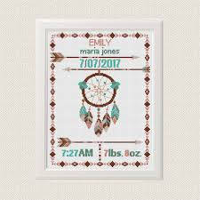 cross stitch pattern dreamcatcher native american modern cross