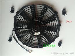 10 inch radiator fan 2018 12 inch universal auto ac electric radiator fan 12v 80watt pull