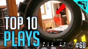 top siege auto headshots top 10 rainbow six siege plays of the week bonus