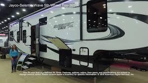 Jayco 5th Wheel Rv Floor Plans by Jayco Seismic Wave 5th Wheel Toy 365w Youtube