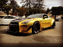 gold nissan car aspire to inspire u2014 gold rocket bunny gtr r35 nissan