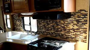inspiration what backsplash tiles can be installed in a rv