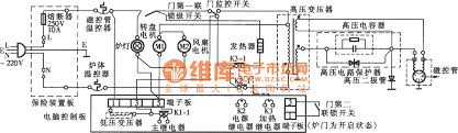 lg pc style barbecue microwave circuit diagram