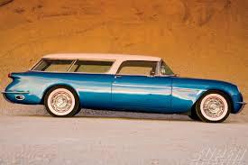 chevy corvette wagon 1956 chevy corvette nomad the waldorf nomad chevy magazine