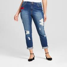 Black Skinny Jeans With Holes Plus Size Jeans Target