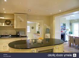 kitchen room 2017 interiors kitchen island unit stock photos