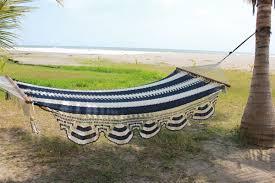 and white nicaraguan handmade hammock