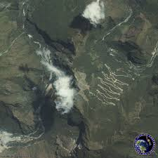 Machu Picchu Map Ikonos Satellite Image Of Machu Picchu Satellite Imaging Corp