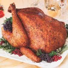 savory herb rub roasted turkey recipe with nutmeg paprika