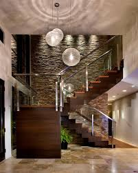 Wood Glass Stairs Design Images About Ideas For The House On Pinterest Staircase Design
