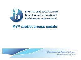 myp subject groups update by international baccalaureate issuu