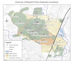 Umd Campus Map University Of Maryland Police Expands Its Concurrent Jurisdiction