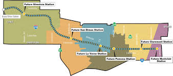 Los Angeles Union Station Map by Gold Line Foothill Extension Curbed La