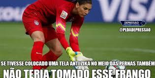 Hope Solo Memes - brasileiros não perdoam duas falhas de hope solo no mesmo jogo veja