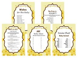 baby shower bee theme bee themed baby shower magical printable
