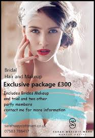 bridal makeup package hair and makeup wedding package offer waycott marr