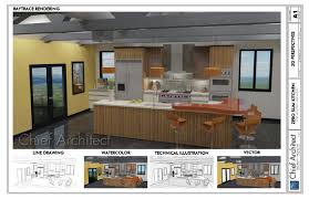 Architectural Design Kitchens by Chief Architect Home Design Software Samples Gallery