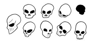 simple skulls by zacnewton on deviantart