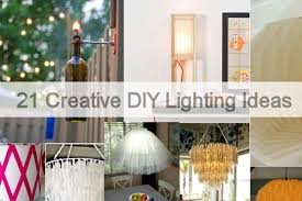 Home Lighting Ideas Interior Decorating by 21 Creative Diy Lighting Ideas