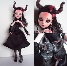 Draculaura Halloween Costume Imp Monster Draculaura Custom Fuchskauz