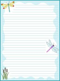 printable animal lined paper 99 best stationary and such images on pinterest article writing