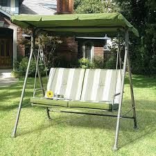 porch swings with canopy 3 seat cushion porch swing with stand
