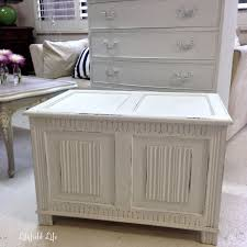 lilyfield life white shabby chic blanket box and fabulous market