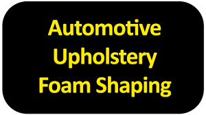 Upholstery Foam Adhesive Automotive Upholstery Foam Shaping Youtube