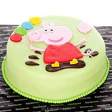 peppa pig cake buy online peppa pig cake cake kapruka