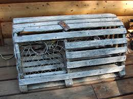 old lobster trap great home decor or use as table base 65 00