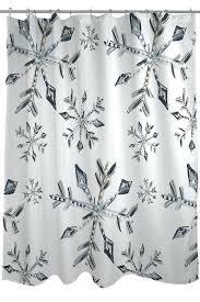home design bakersfield snowflake shower curtains snowflake shower curtain home design
