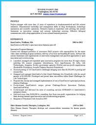 Sample Academic Resume Biotech Resume Sample Resume Cv Cover Letter