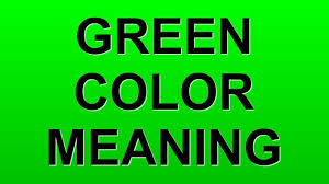 green color meaning youtube