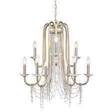 Cyan Chandelier Golden Lighting U0027s Sancerre 2 Tier 9 Light Chandelier 1425 9 Wg