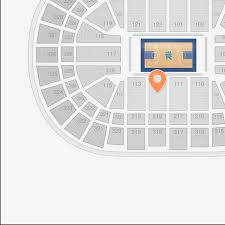 united center section 112 seat view lower level sideline