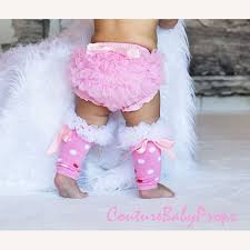 baby ruffle bloomers and leg warmers set