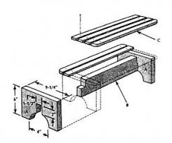 Simple Wood Bench Plans Free by 55 Best Swings Benches Chairs Images On Pinterest Gardens Diy