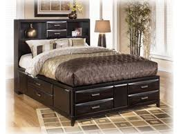 Queen Size Bed Frame With Storage Underneath King Bed Frame With Drawers Underneath Genwitch