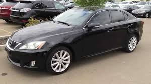 lexus fremont dealer pre owned black 2010 lexus is 250 awd leather with moonroof