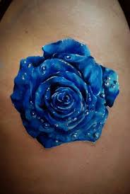 best 25 blue flower tattoos ideas on pinterest flowers roses