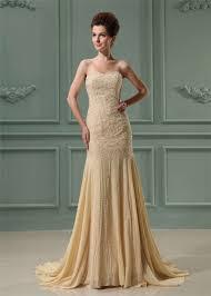 mermaid trumpet wedding dress strapless beaded chiffon mermaid trumpet wedding dress sweetheart