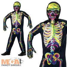 Glow In The Dark Skeleton Costume 401345967103 5 Jpg