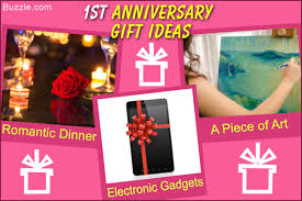 1st anniversary gift for him really innovative anniversary gift ideas to him