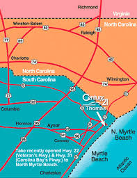 south carolina beaches map myrtle south carolina map directions airport