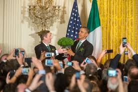 here u0027s how president obama celebrates st patrick u0027s day