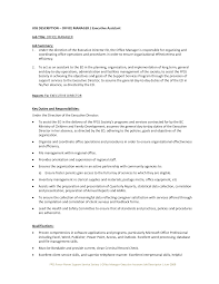 Resume With Community Service Assistant Manager Job Description For Resume Resume For Your Job