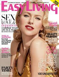 Home Design Uk Magazine by Naomi Watts In Easy Living Magazine Uk January 2013 Issue